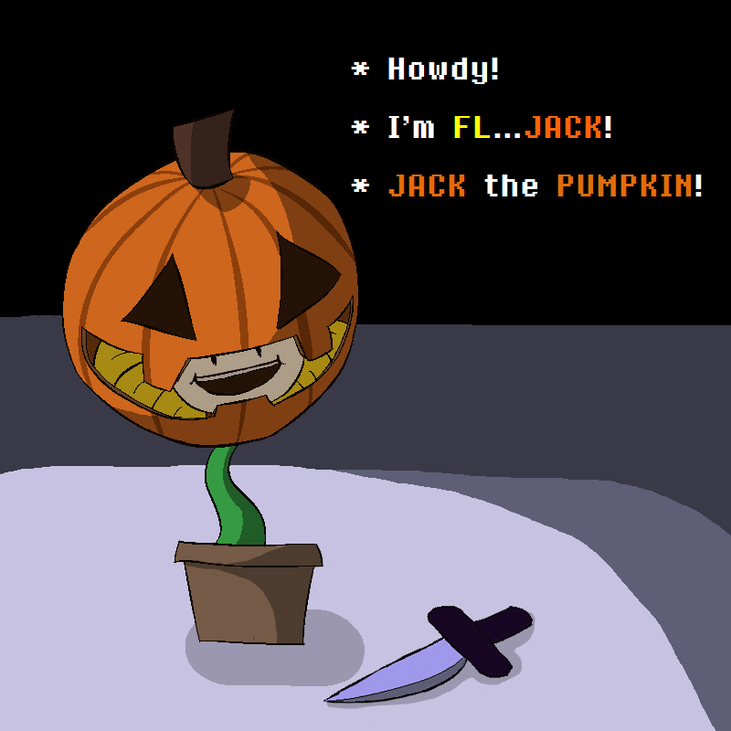 Fl.. JACK THE PUMPKIN! by Muffinsforever