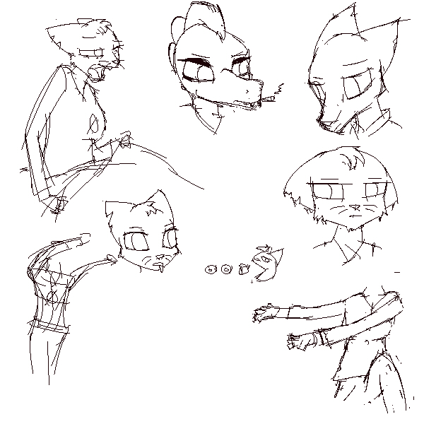 Nitw-mae-sketchythings 8 by Muffinsforever