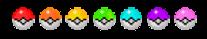 Rainbow pokeball pixel :3 by N30T0XIC