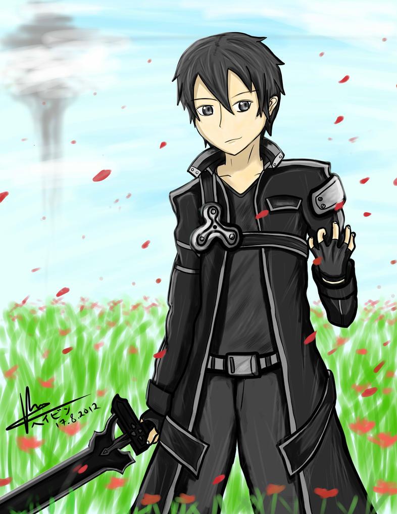 The Black Swordsman - Sword Art Online by HayzenR