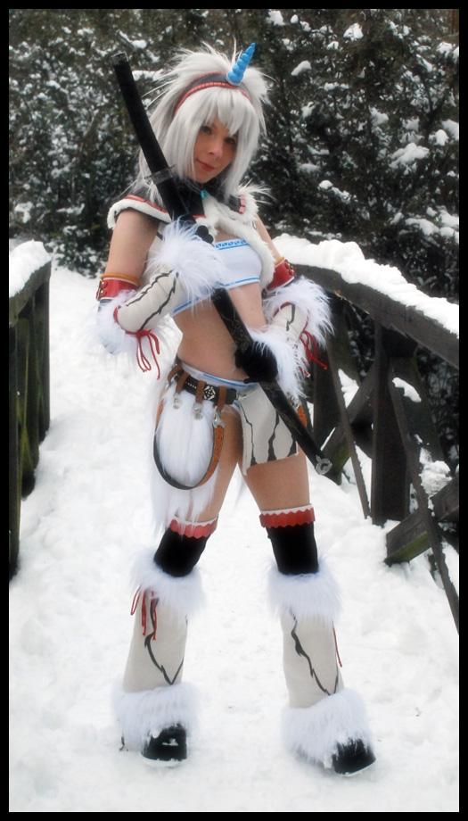 Kirin in the snow by YurikoCosplay