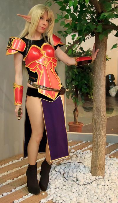 Blood elf - completed armor by YurikoCosplay