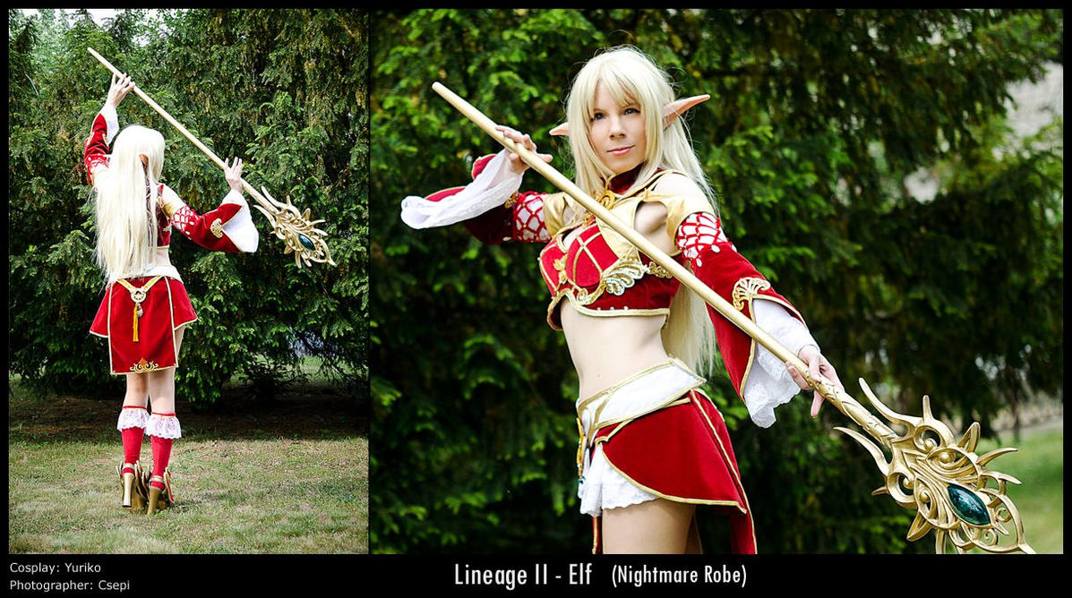 Lineage II - Elf by YurikoCosplay