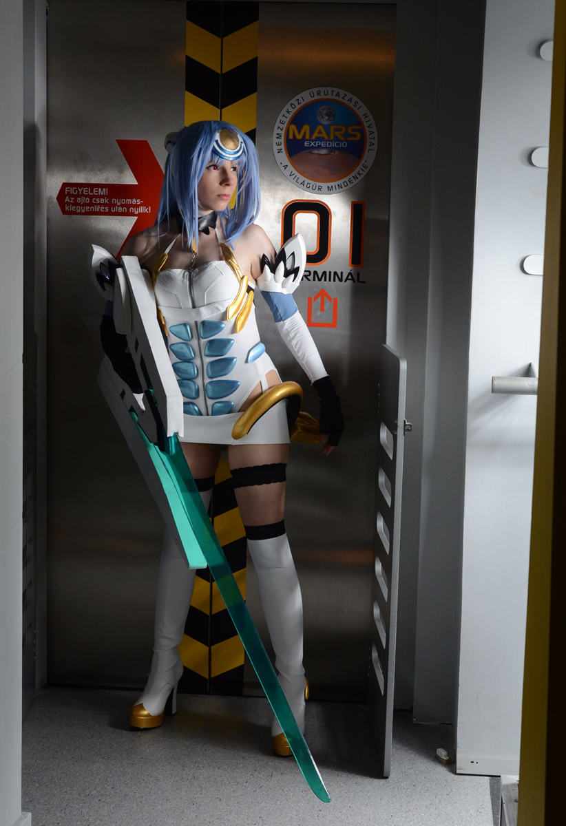KOS-MOS standby mode by YurikoCosplay