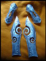 Nightelf armor WIP by YurikoSeira