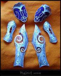 Nightelf armor finished by YurikoSeira