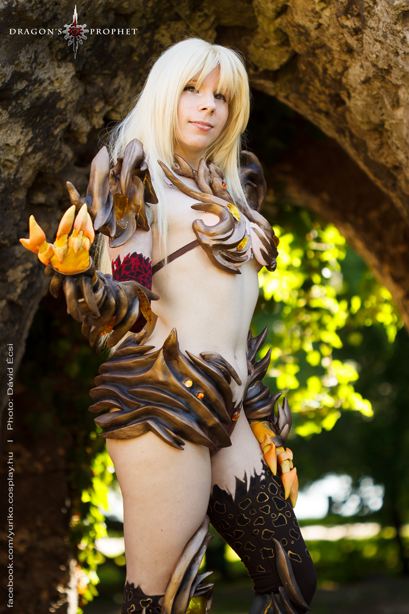 Dragons Prophet - Dragonfire armor by YurikoCosplay