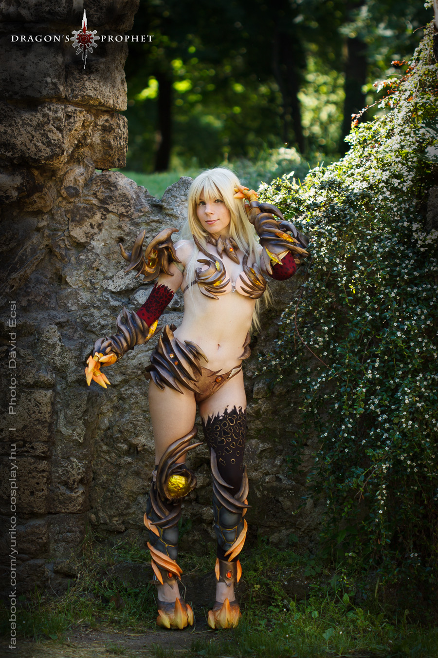 Dragons Prophet - Dragonfire armor II. by YurikoCosplay