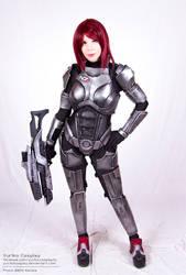 Female Shepard by YurikoSeira