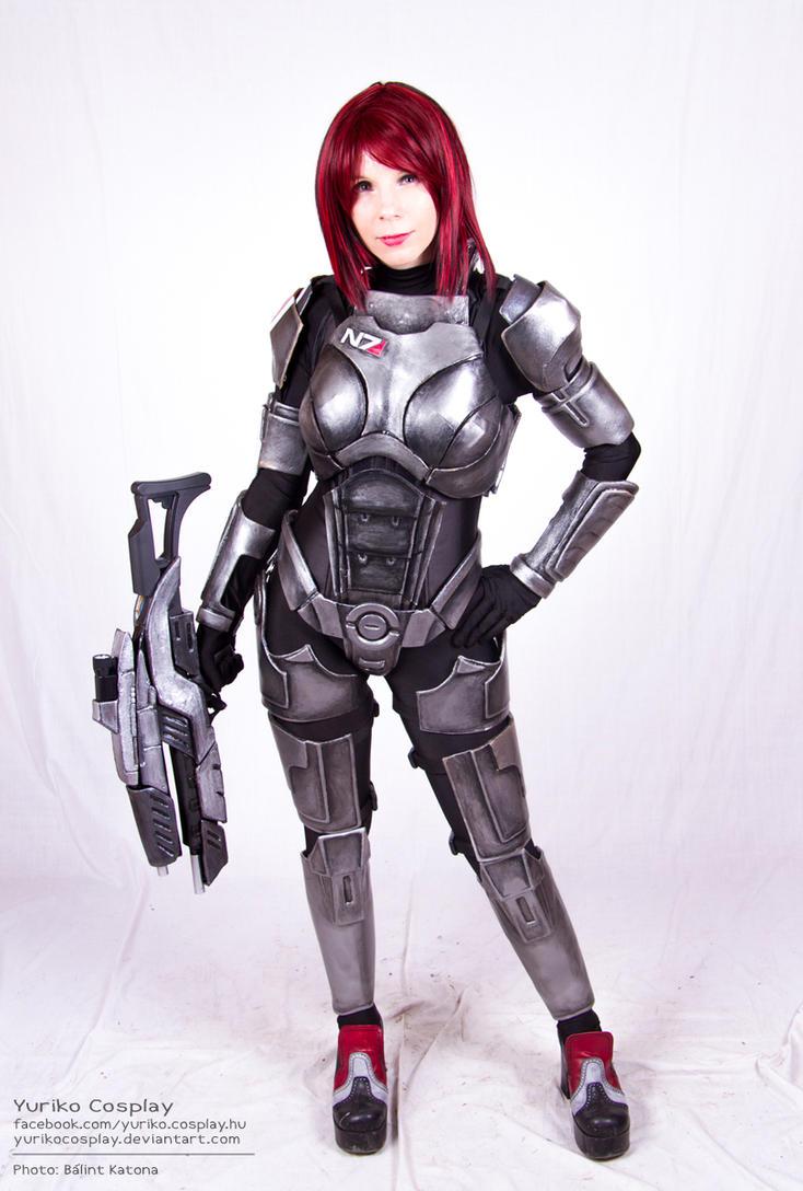 Female Shepard by YurikoCosplay