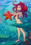 Octogirl found a Starfish