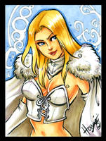 PSC -  Emma Frost by HanieMohd