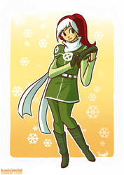 Rogue in Sweater by HanieMohd