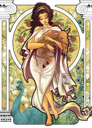 Classic Mythology: Hera by HanieMohd