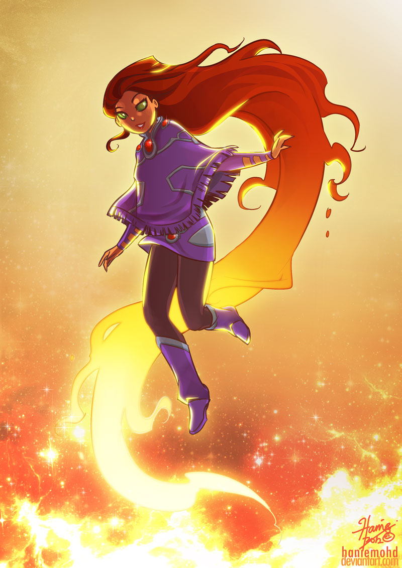 Starfire Sweater by HanieMohd