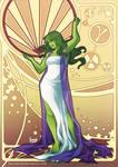 Noveau She-Hulk by HanieMohd