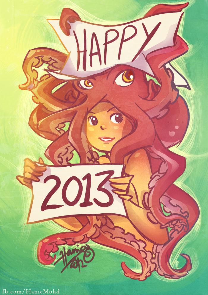 Happy 2013 by HanieMohd