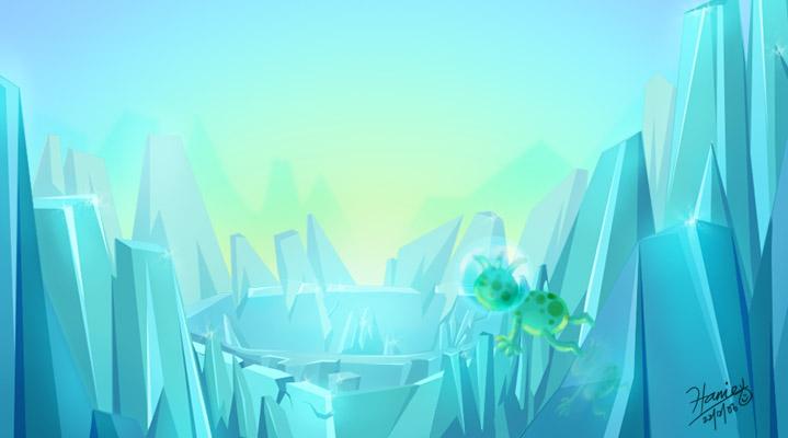 Blue Ice by HanieMohd