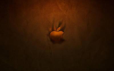 Apple logo Burnt by CAB19