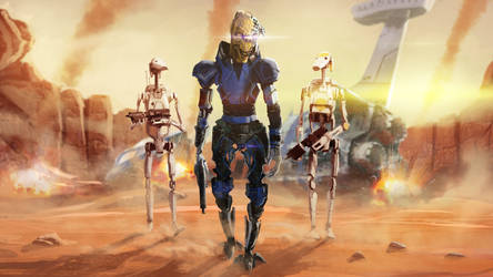 Zarus Arkarra the Phindian cyborg