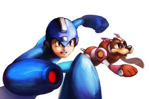 I'm Mega Man_Rock Man by Noe-Leyva