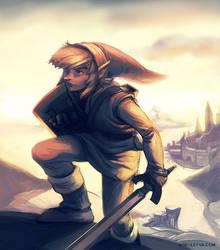 link's adventure begins by Noe-Leyva