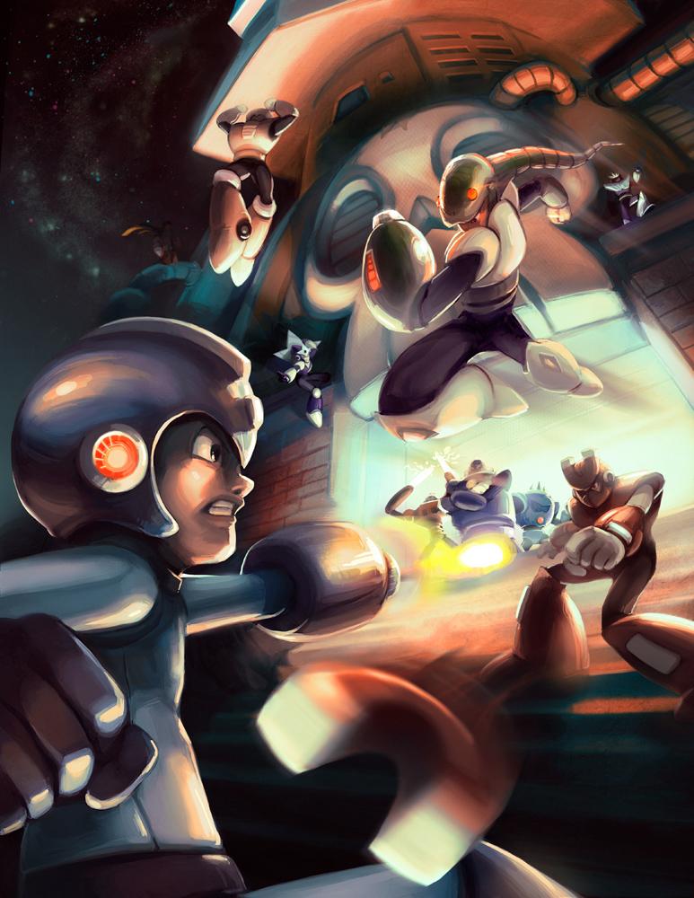 Megaman Tribute Fail by Noe-Leyva