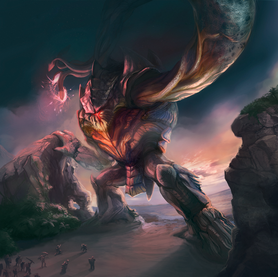 Rift: Water Colossus by Noe-Leyva