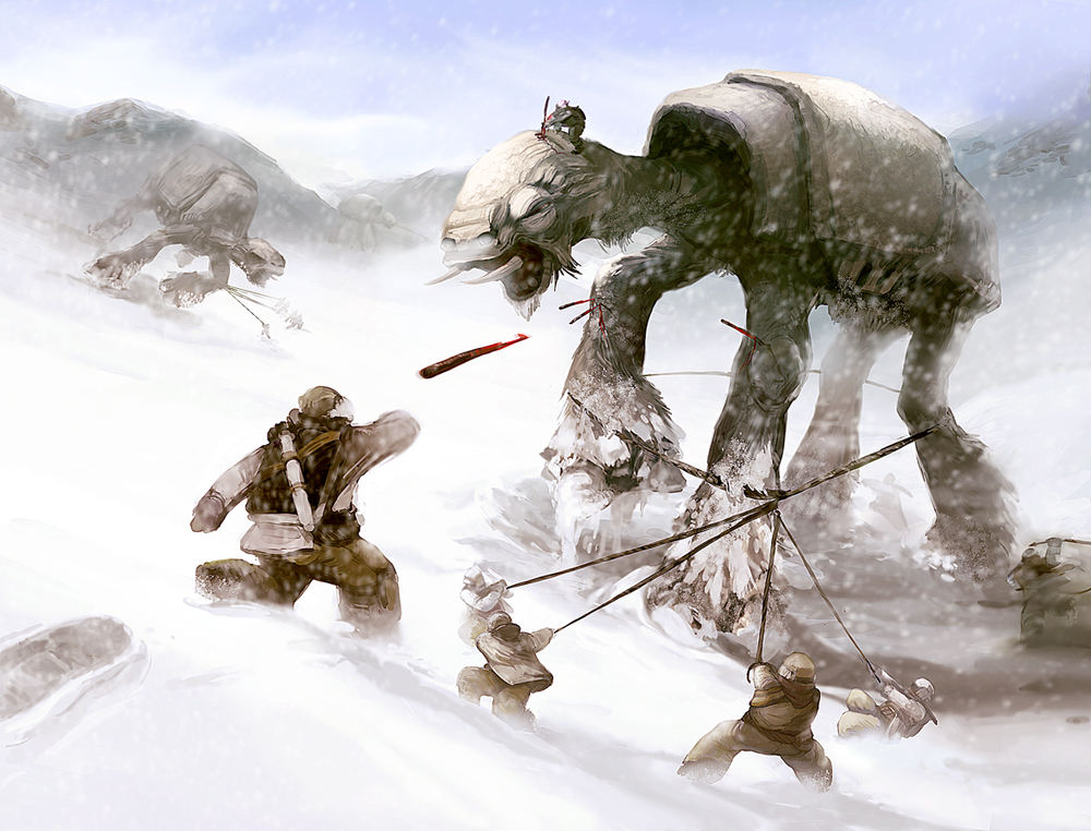 Hoth Battle Wallpaper Battle of Hoth Inspired by