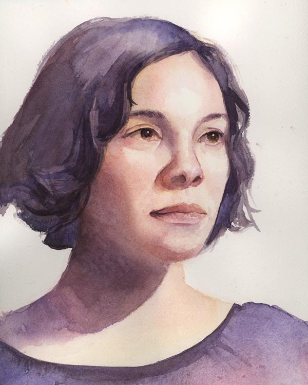 Watercolor Portraits Tutorial Watercolor Portrait