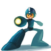 Mega Man Break by Noe-Leyva