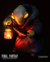 Final Fantasy Bestiary Tonberry by Noe-Leyva