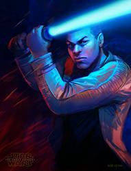 Star Wars Force Awakens Finn Fan Art