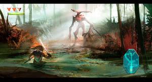 Link's Swamp Encounter 2