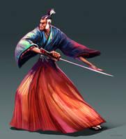 Samurai by Noe-Leyva