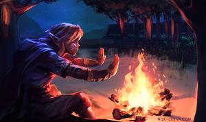 Zelda Breath of the Wild Speedpaint by Noe-Leyva
