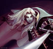 Castlevania Alucard fan art by Noe-Leyva