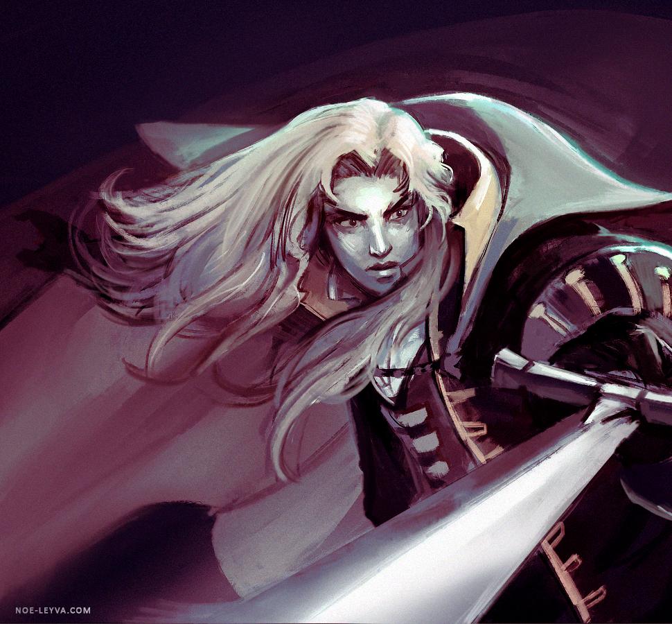 Castlevania Alucard fan art by Noe-Leyva on DeviantArt