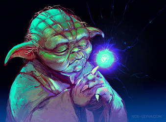 Yoda May the 4th by Noe-Leyva