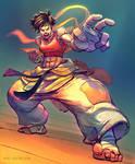 Makoto Street Fighter Fan Art by Noe-Leyva