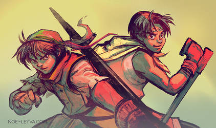 Suikoden Heroes 1 and 2 by Noe-Leyva