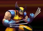 Wolvie Marvel VS Capcom
