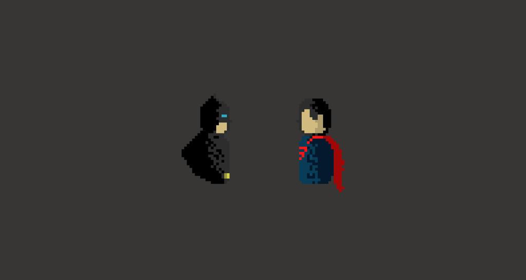 batman vs superman pixel - photo #8