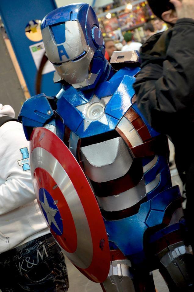 Iron Captain America by indyjones78