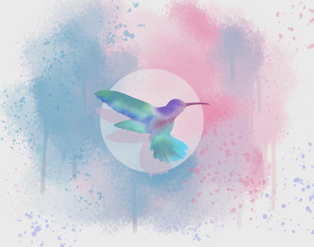 Humming Bird by Sylf24