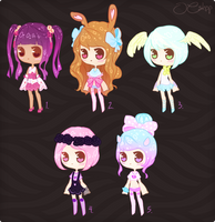 [CLOSED] ADOPTABLE BATCH #9 by OCshop