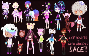 [OPEN - 2 LEFT!] LEFTOVERS + NEW ADOPTS BATCH #15 by OCshop