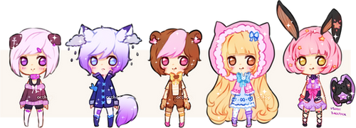 [OPEN] ADOPTABLE BATCH #16 by OCshop