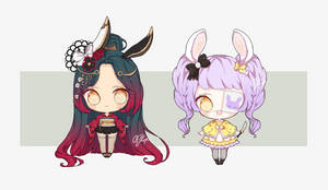 CLOSED Easter bunny adoptables BATCH #25 by OCshop