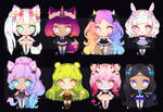 [3 LEFT !] KEMONOMIMI GIRLS ADOPT BATCH #30 by OCshop
